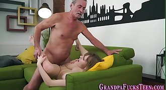 Teenager spermed by old man
