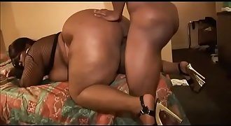 Fat fucking booty of black chunky whores # 1