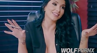 Fucking my horny lawyer Romi Rain to solve my case