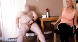 Caught wanking by hot blonde flatmate - preview