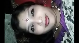Big boob indian village milf showing her assets to lover and fucked at night