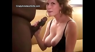Youthfull wife breeded in black undergarments by husband