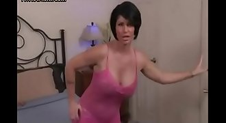 Stepmom catch stepson watching porn
