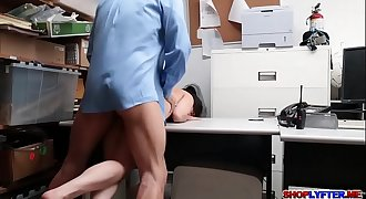 Penelope Reed steals and fucks with the cop